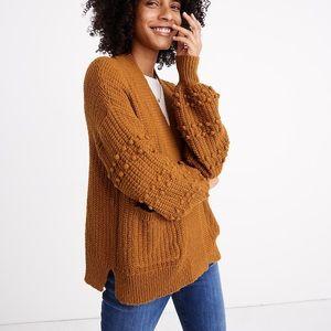 Madewell NWT Bobble Cardigan Sweater XL